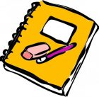 pencil_eraser_and_journal_clip_art_12134