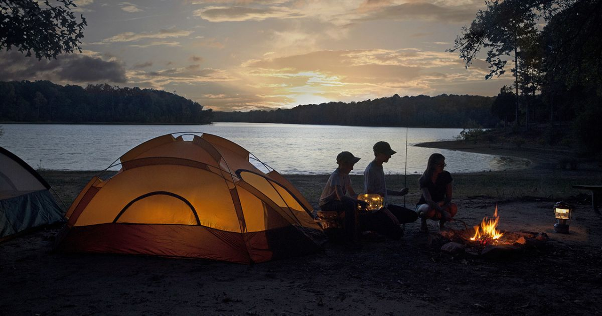Mofos camping trip